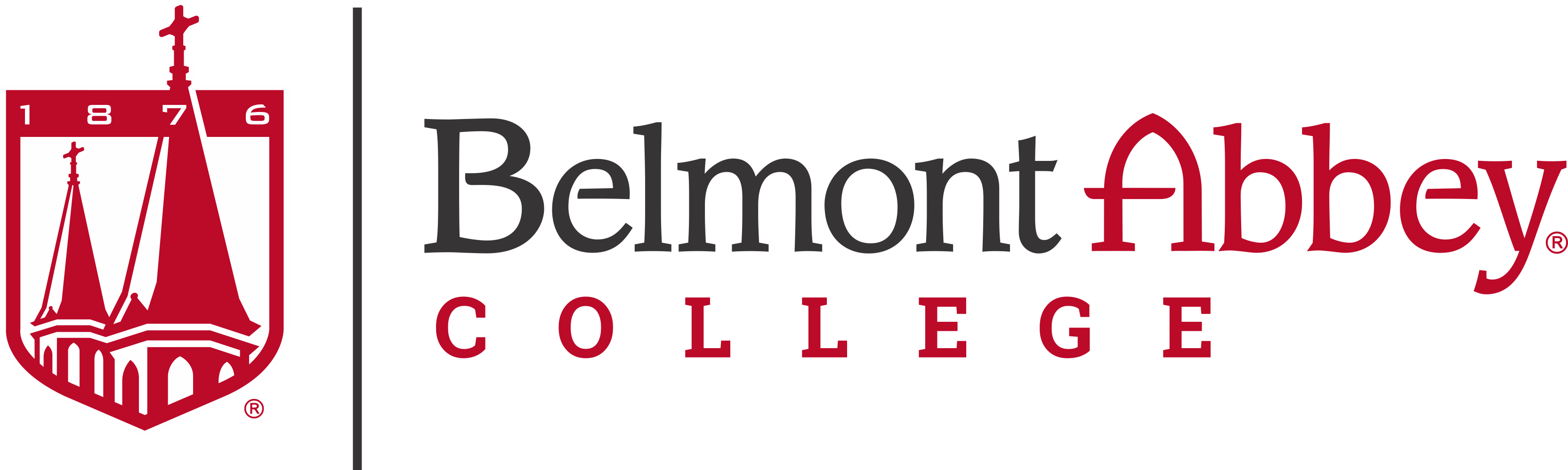 Belmont Abbey College Logo